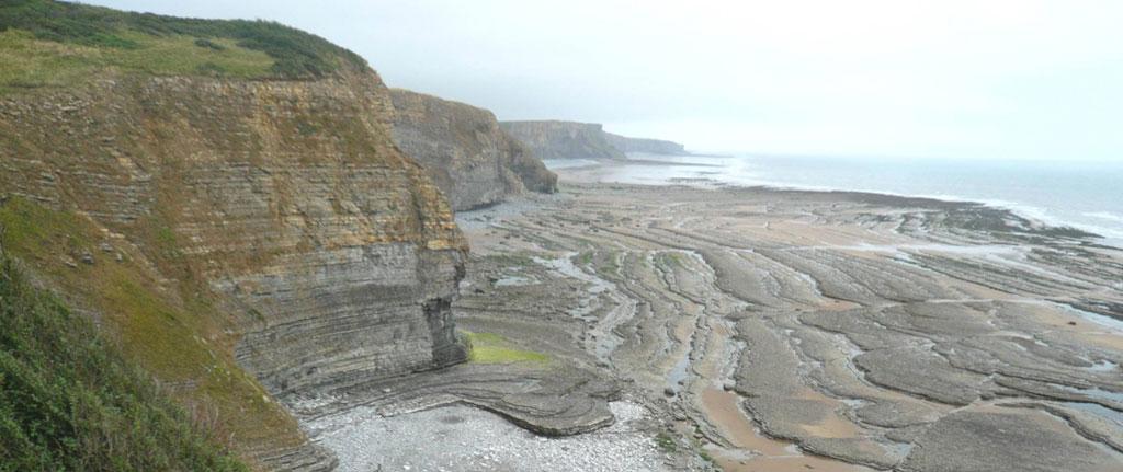 Jurassic Blue Lias Formation