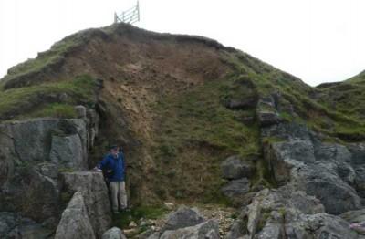 Miocene age pothole fill