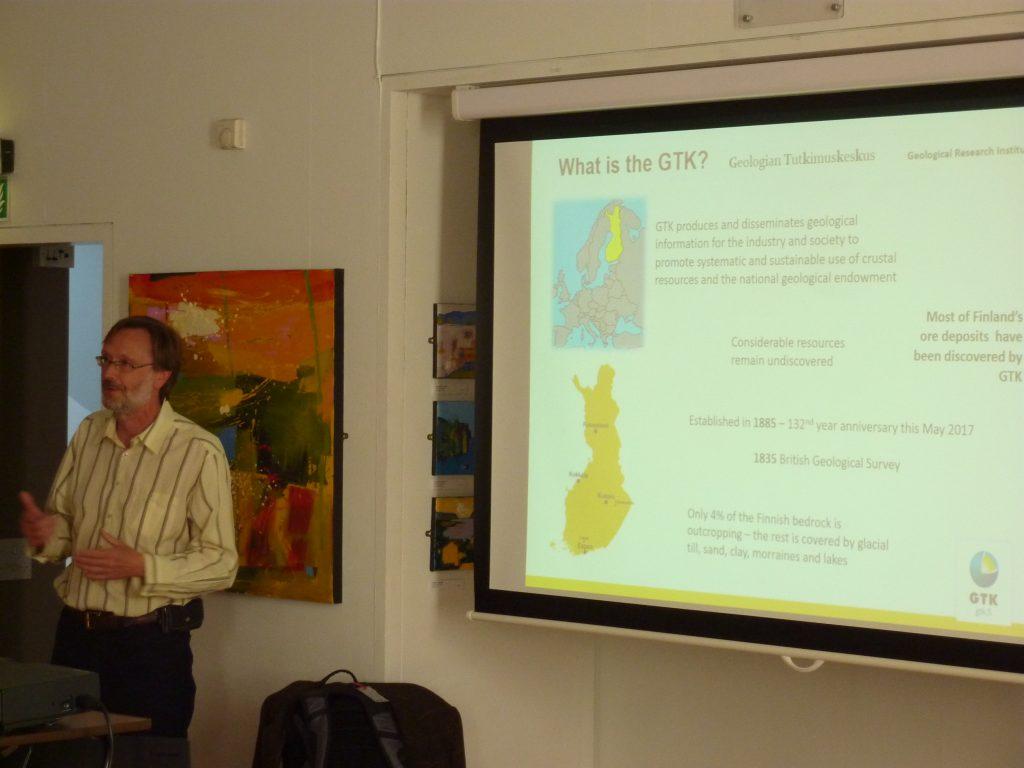 cluster presentation july 2017 | geoscience wales